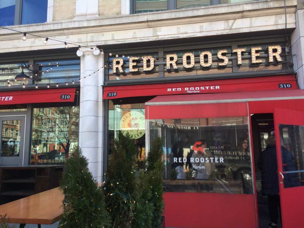 Red Rooster restaurant in Harlem