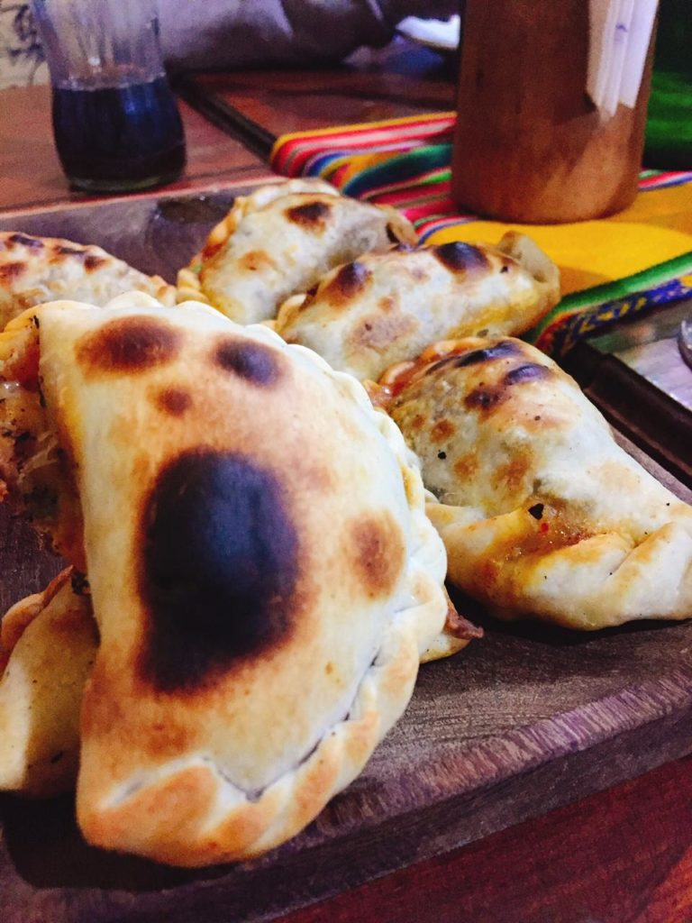 Empanadas salteñas en Cafayate.