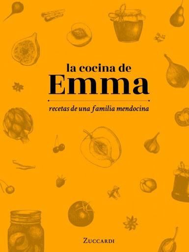 Libro de recetas de Emma Zuccardi.